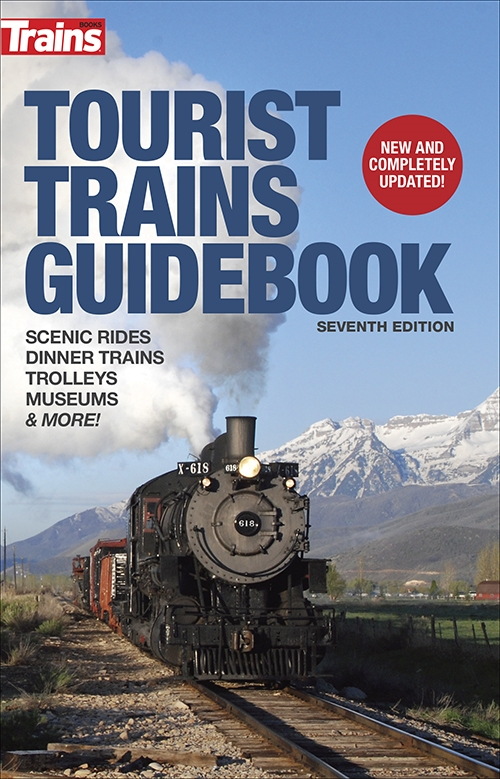 Tourist Trains Guidebook by Kalmbach HobbyStore Item Number: KAL1213