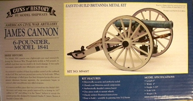 James Cannon 6-Pounder 1841, Model Shipways Item Number MOD4007