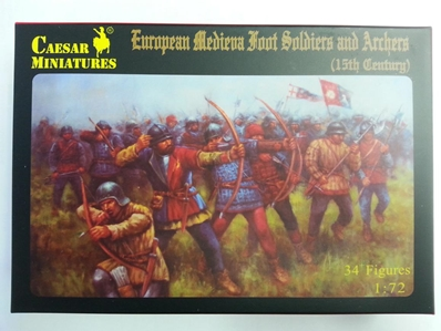 13th Cent European Soldiers:72, Pegasus Hobbies Item Number PGSC088