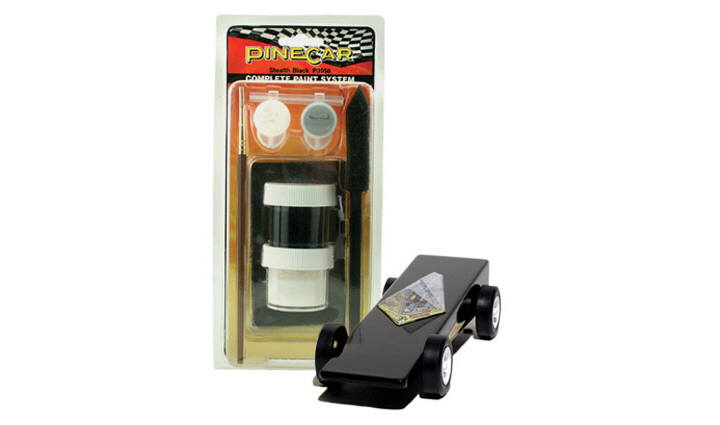 Stelth Black Paint System, Pine Car Item Number PCR3956