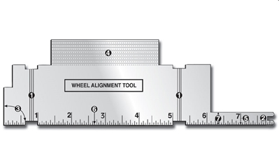 Alignment Tool, Pine Car Item Number PCR456