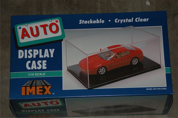Car Case Clear Base (1:18), IMEX Item Number IMX2501