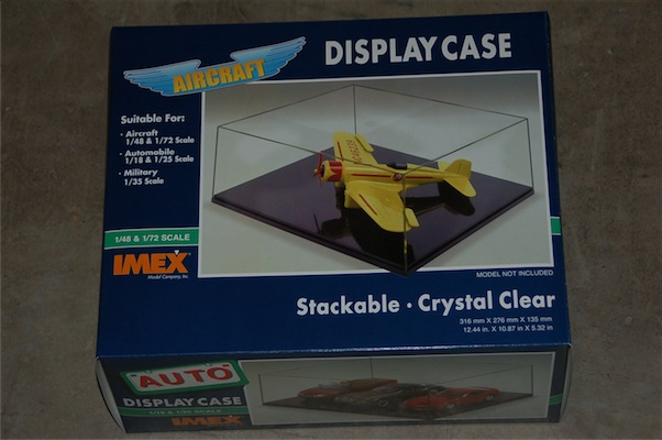 Airplane Case Clear Base, IMEX Item Number IMX2504