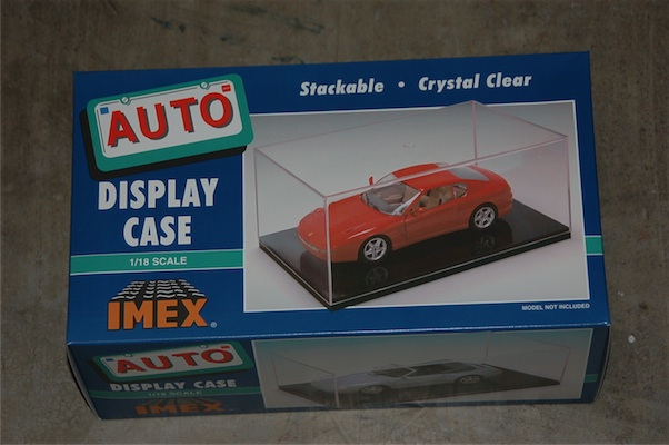 Car Case Black Base (1:18), IMEX Item Number IMX2511