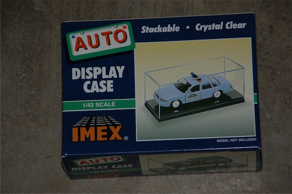 Car Case Black Base 1:43 2pk, IMEX Item Number IMX2512
