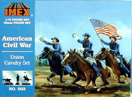 Union Cavalry (1:72), IMEX Item Number IMX503