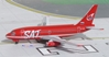 SAT B737-200 New Colors RA-73003 (1:400), AeroClassics Models Item Number ACSAT0316
