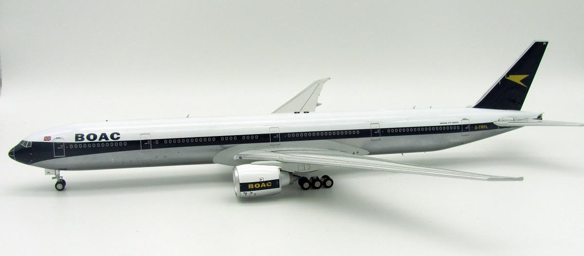 BOAC Boeing 777-300ER G-TRPL (1:200), InFlight 200 Scale Diecast Airliners Item Number B-BOAC-777-001P