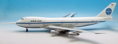 "Pan Am 747-100 N732PA ""Clipper Storm King"" N732PA (1:200) Includes 32 ft long probe used to measure wind gusts., InFlight 200 Scale Diecast Airliners Item Number IF741PAAEXP"
