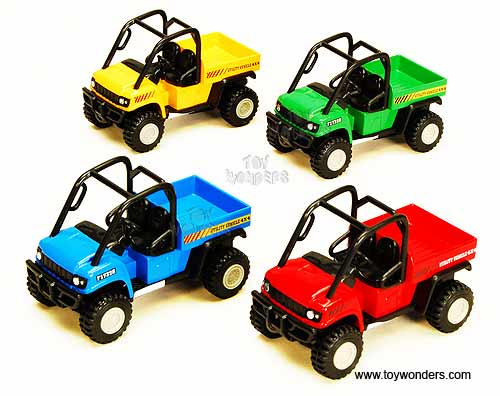 "Utility Vehicles (4"" diecast model, Assorted Colors.)"