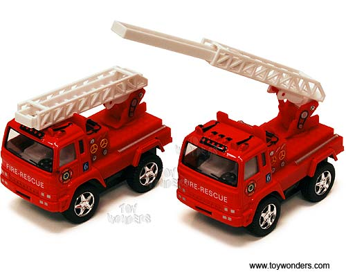 "Funny Fire Engine (3.25"", Red)"
