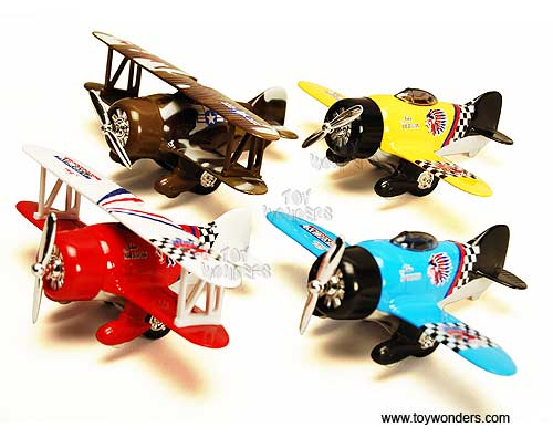 Classic Wing Airplane (Assorted Colors and Styles),  Item Number 998D