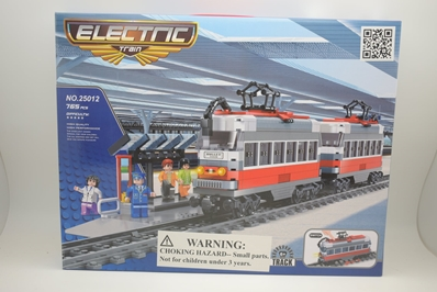 Bullet Train 765 pcs w/station by RR Conveyance Train Blocks <p> Item Number: RCT25012