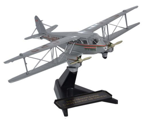 de Havilland DH.89 Dragon Rapide - Railway Air Services, G-ACPP (1:72), Oxford Diecast 1:72 Scale Models Item Number 72DR006