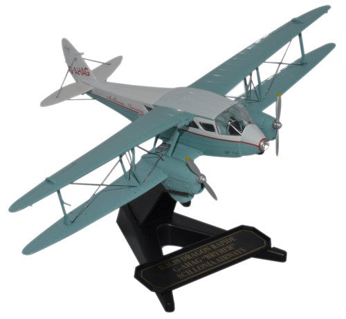 de Havilland DH.89 Dragon Rapide, Scillonia Airways, G-AHAG, Oxford Diecast 1:72 Scale Models Item Number 72DR012
