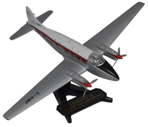 de Havilland DH.104 Dove, Dan Air, Oxford Diecast 1:72 Scale Models, 72DV001