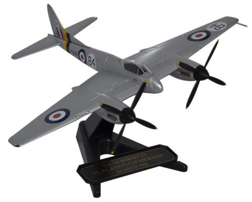 de Havilland DH.103 Sea Hornet F.Mk.3, National Air Races, Elmdon, 1949 (1:72), Oxford Diecast 1:72 Scale Models Item Number 72HOR005