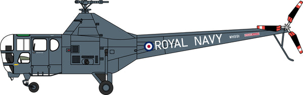 Westland Dragonfly HR.5 WH991, British Royal Navy, The Yorkshire Air Museum (1:72), Oxford Diecast 1:72 Scale Models, Item Number 72WD001