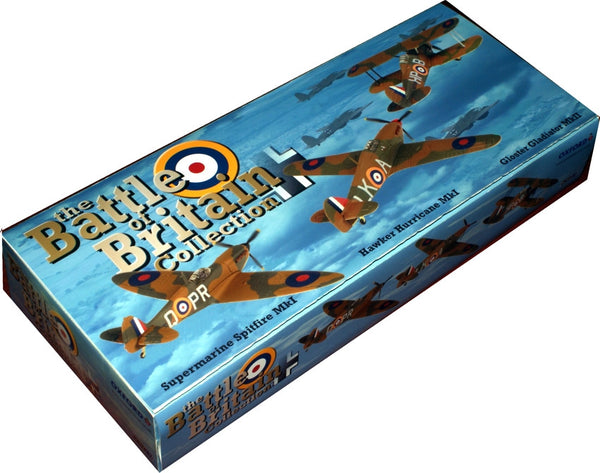 Battle of Britain 75th Anniversary Collection, Gladiator Mk.II (247 Sqn), Hurricane Mk.I (87 Sqn) & Spitfire Mk.I (609 Sqn), 1940