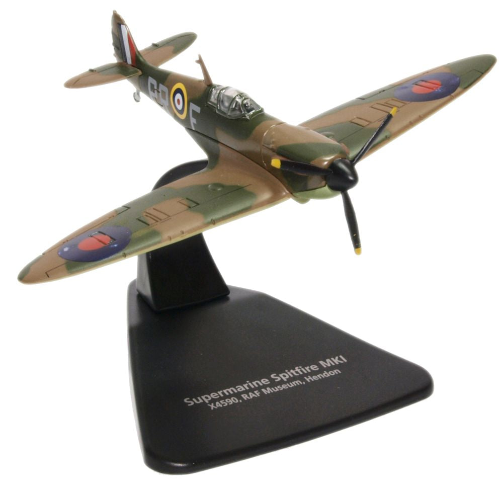 Supermarine Spitfire Mk.I _ No. 609 (West Riding) Squadron, Royal Air Force, 1940 (RAF Museum, Hendon) (1:72) - Preorder item, order now for future delivery