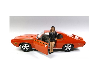 Car Model Sue Figure For 1:24 Scales