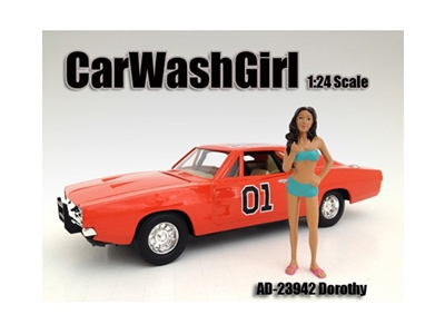 Car Wash Girl Dorothy Figure For 1:24
