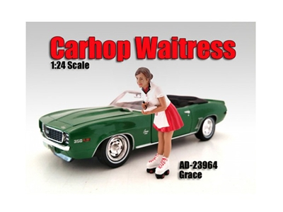 Carhop Waitress Grace Figure For 1:24