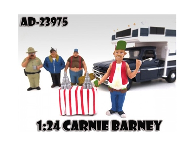 "Carnie Barney ""Trailer Park"" Figure For 1:24 Scale Cars"