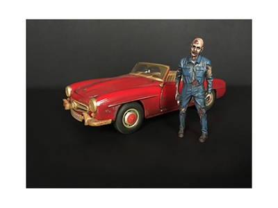 Zombie Mechanic Figurine I for 1/18