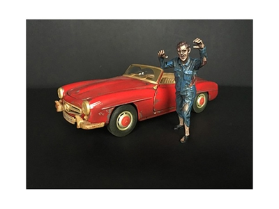 Zombie Mechanic Figurine II for 1/18