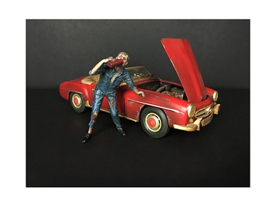 Zombie Mechanic Figurine III for 1/18