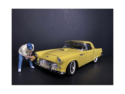 Weekend Car Show Figurine VI for 1/18