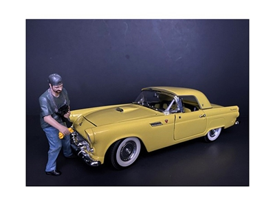 Weekend Car Show Figurine VII for 1/18