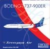 Sriwijaya Air B737-900ER PK-CMP (1:400)by Pheonix Models, Item Number: PH4SJY1415