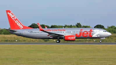 Jet2 Airways B737-800 Winglets G-JZBN ((1:400))