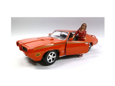 Car Model Victoria Figure For 1:24 Scales