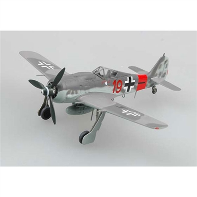 "FW 190A-8 ""Red 19"" 5/JG300, Germany, October 1944 (1:72) by EasyModel Aircraft Models"