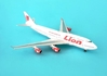 Lion Air B747-400 PK-LHF (1:400)by Pheonix Models, Item Number: PH415