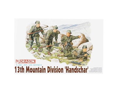 13th Ss Mountain Troops 1:35, Dragon Model Kits Item Number DRA6067