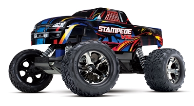 Stampede VXL Monster Truck, Traxxas Radio Control Item Number TRX36076-4