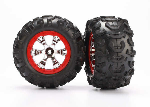 Tires & Wheels, Traxxas Radio Control Item Number TRX7272