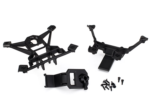 Body mounts, f&r/3x15mm BCS, Traxxas Radio Control Item Number TRX7715