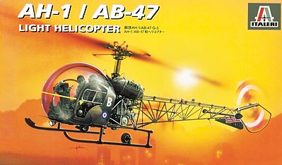 Oh-13/Ab-47 Helicopter 1:72