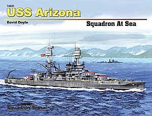 Uss AriZona Hardcover, Squadron Signal Publications, Item Number SS74001
