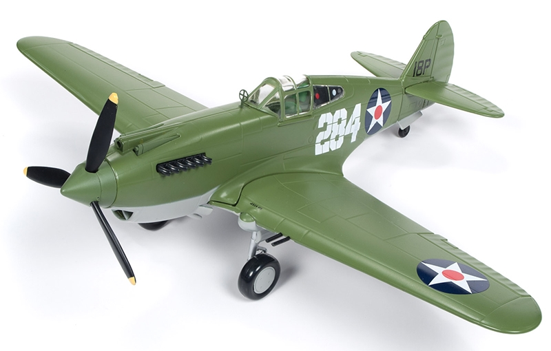 1941 Curtiss P-40B Tomahawk, Release #2 in the Fuel For Victory Texaco Series, 2019 (1:44) by Round 2 Model Airplanes
