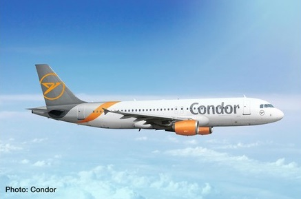 Condor A320 2019 NEW LIVERY  by Herpa 1:500 Scale Diecast Airliners <p> Item Number: HE534307