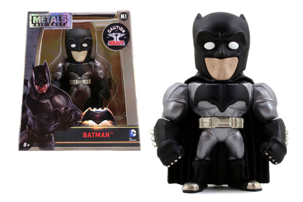 Batman 4-Inch Diecast Metal Figure - Batman v Superman 2016 - METALS Diecast by Jada Toys, Jada Toys Item Number JDA97668