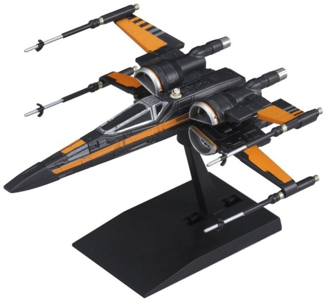 Star Wars Poes X-Wing mini-kit 003 from Bandai
