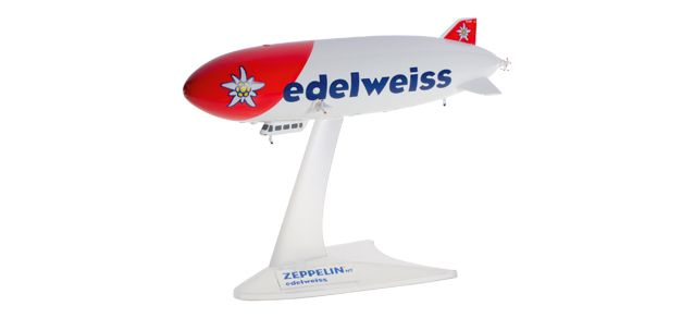 Edelweiss Zepplin NT D-LZZF (1:500), Herpa 1:500 Scale Diecast Airliners Item Number HE527958