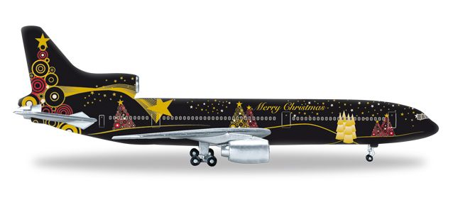 "Herpa Christmas 2015 L1011-1 ""Merry Christmas"" (1:500), Herpa 1:500 Scale Diecast Airliners Item Number HE528146"